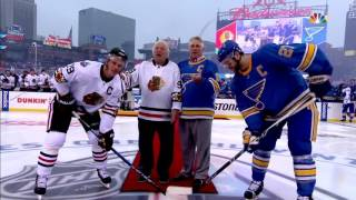 Gotta See It: Bobby and Brett forget ceremonial puck