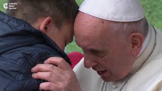 Little boy asks Pope Francis: