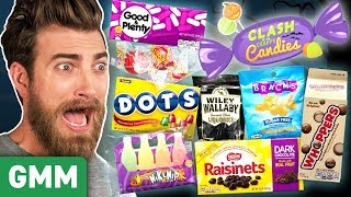 Worst Halloween Candy Taste Test (Day 1)