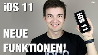 iOS 11 deutsch - Neue Funktionen!
