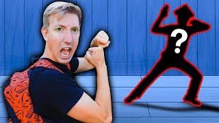 I FIGHT HACKER in Real Life NINJA BATTLE ROYALE Exploring Secret Hidden Abandoned Backyard Challenge