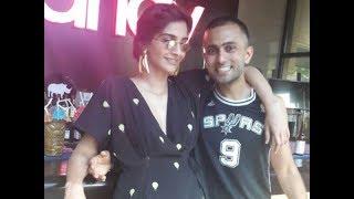 Sonam Kapoor Gets Lovey-Dovey With Boyfriend Anand Ahuja | SpotboyE