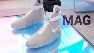 Dope Tech: Self-Lacing Nike Mag!