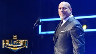 Goldberg explains what inspired his WWE comeback: WWE Hall of Fame 2018 (WWE Network Exclusive)