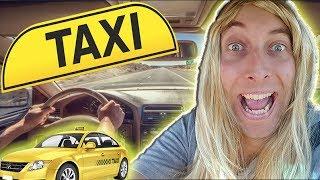 Die unfreundlichste Taxifahrerin der Welt - Karina bei der Arbeit!!!