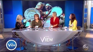 Maria Sharapova - Explains Suspension & Serena Williams Comments (The View)