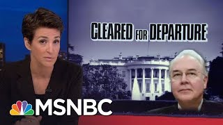 Pattern Of Abuse Of Taxpayer Money Seen In Wealthy Donald Trump Staff | Rachel Maddow | MSNBC