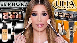 SEPHORA vs ULTA Full Face Comparison! ...What