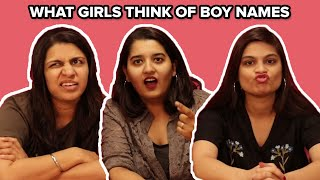 What Girls Think of Indian Boy Names