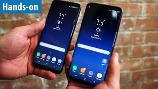 Galaxy S8 & S8 Plus - Samsungs neue Super-Phones im Hands-on / Erster Test | deutsch / german