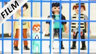 Playmobil Film Deutsch - EMMA IM GEFÄNGNIS! Knast Geschichte - Kinderserie Familie Vogel