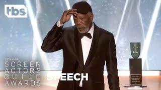 Morgan Freeman: Life Achievement Award | 24th Annual SAG Awards | TBS
