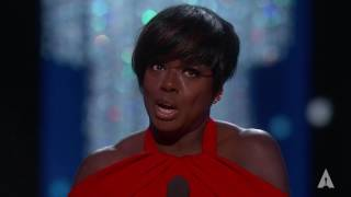 Viola Davis winning Best Supporting Actress