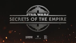 Star Wars: Secrets of the Empire - ILMxLAB and The VOID - Immersive Entertainment Experience