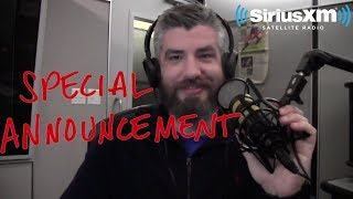 An Announcement About My SiriusXM Radio Show