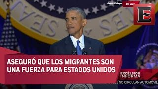 Último mensaje de Barack Obama como Presidente de Estados Unidos