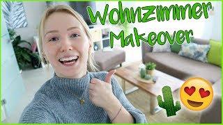 WOHNZIMMER MAKEOVER für den FRÜHLING/SOMMER! Kathi2go