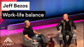 Work-life balance — Jeff Bezos