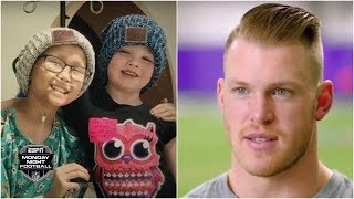 Vikings TE Kyle Rudolph created a place where sick kids can just be kids   Monday Night Countdown