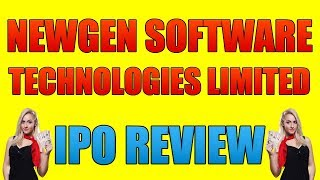 Newgen Software IPO Details | Newgen Software IPO | Newgen Software Technologies IPO