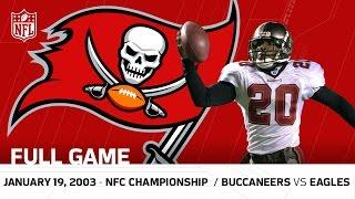 Buccaneers vs. Eagles 2002 NFC Championship   NFL Full Game