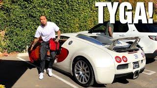 TYGA DRIVING HIS BUGATTI VEYRON in Los Angeles!