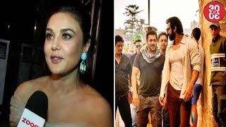 Preity Gives A Word Of Advice To The Paparazzi | Salman