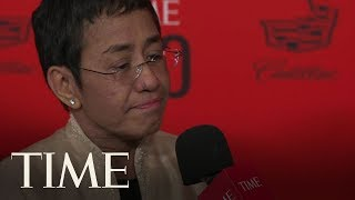 Maria Ressa Talks About Julian Assange & Wikileaks Not Being Real Journalism | TIME 100 | TIME
