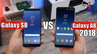 Samsung Galaxy A8 (2018) vs Galaxy S8: Compare New Mid-Ranger and Old Flagship
