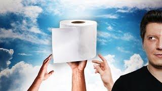 Klopapier verhindert DRITTEN WELTKRIEG! - Werbung Geheidert