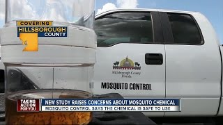 New health concerns sparked by mosquito spray