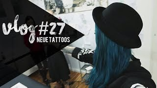 Vlog#27 - 2 NEUE TATTOOS von Jentonic ♥