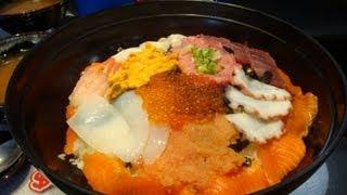 Huge Sashimi Bowl Challenge (Record Set)