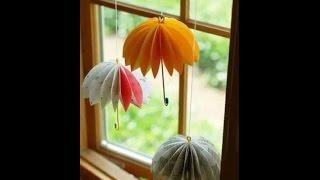 DIY Home Decor - How to Make an Amazing Umbrella + Tutorial .