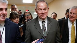 What to do with Roy Moore? The White House and leading Republicans split, again