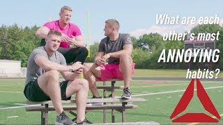 Watt Brothers #RealTalk About Sibling Rivalry