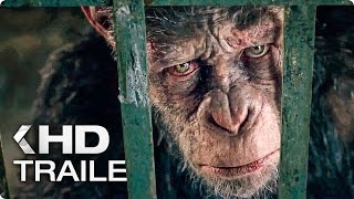 WAR FOR THE PLANET OF THE APES Trailer 4 (2017)