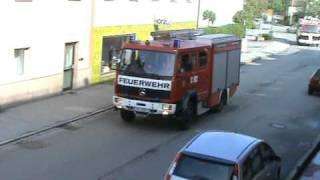 Einsatzfahrt Feuerwehr Vilshofen an der Donau