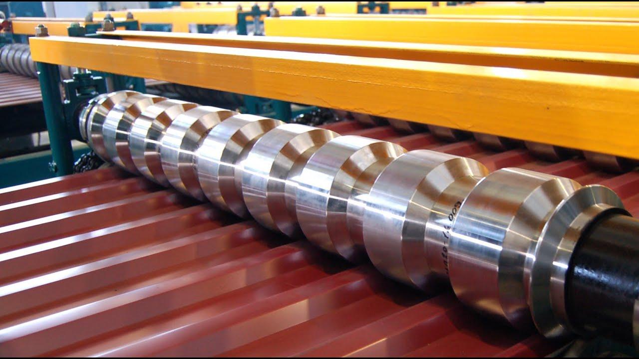 Ручной станок для изготовления профнастила методом гибки