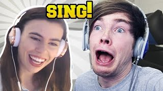 REACTING TO YOUTUBERS SINGING!!!