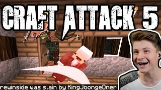 REWI RASTET KOMPLETT AUS! | Craft Attack 5 #1