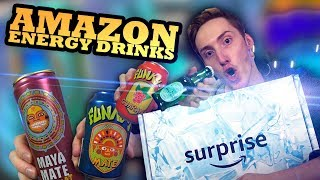 Wir testen das Amazon Surprise Paket mit Energy Drinks! | Überraschungspaket