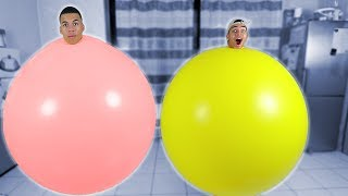 XXL BALLON CHALLENGE !!!   PrankBrosTV