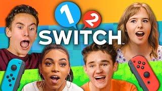 1-2-SWITCH TOURNAMENT - Nintendo Switch (Teens React: Gaming)