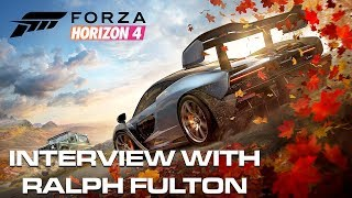 E3 2018: Forza Horizon 4 Ralph Fulton Interview