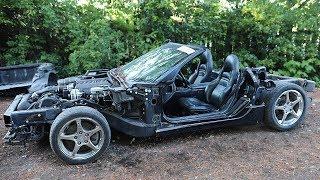 One Day Vette Kart Teardown