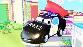 Beste von Der Streifenwagen mit dem Polizeiauto und dem Feuerwehrauto  in Autopolis | Autos 🚚 🚑 🚗