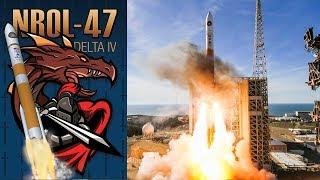 Delta IV Launch - NROL-47 - 12JAN18