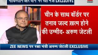 Exclusive: Country will not tolerate Pakistan-supporting groups, says FM Arun Jaitley