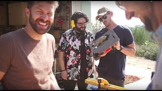 Best Friends Play with Power Tools